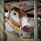The Carousel horse with character by bubblehex08