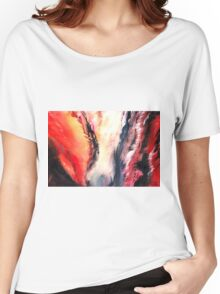 Abstract New Women's Relaxed Fit T-Shirt