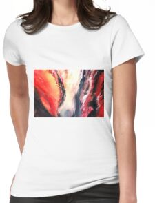 Abstract New Womens Fitted T-Shirt