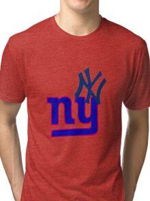 yankees and giants Tri-blend T-Shirt