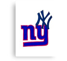 yankees and giants Canvas Print