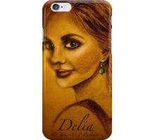 Delia, or The Blue Sweater... iPhone Case/Skin