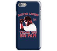 Thank You Big Papi iPhone Case/Skin