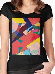 TRAFFIC Women's Fitted Scoop T-Shirt