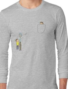 Pocket Morty Long Sleeve T-Shirt
