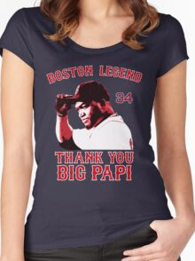 Thank You Big Papi Women's Fitted Scoop T-Shirt