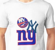 new york teams Unisex T-Shirt