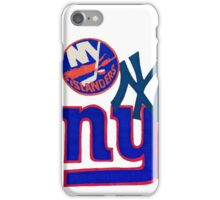 new york teams iPhone Case/Skin