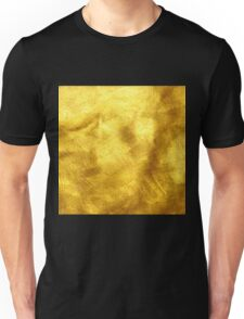 Gold liquid pattern,modern,trendy,contemporary art,gold,shine,glam Unisex T-Shirt