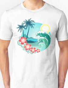 Hawaiian Island 2 Unisex T-Shirt