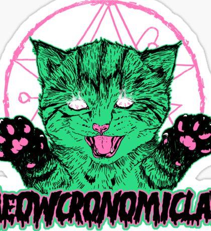 Meowcronomiclaw Sticker