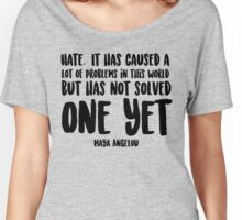 Hate Women's Relaxed Fit T-Shirt