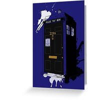 Dr Sherlock Who Greeting Card