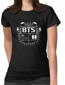 BTS - logo Womens Fitted T-Shirt
