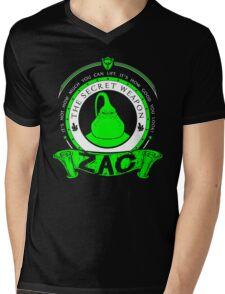 Zac - The Secret Weapon Mens V-Neck T-Shirt