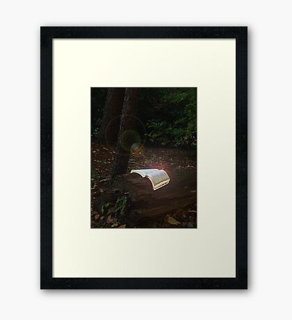 Reading is magical Framed Print
