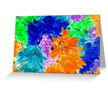 Very Colorful!  Greeting Card