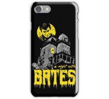 A night with Bates iPhone Case/Skin