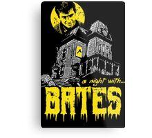 A night with Bates Metal Print