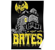 A night with Bates Poster