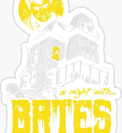 A night with Bates Sticker