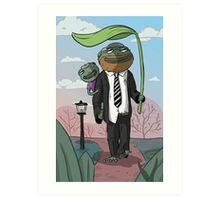Frog Daddy Art Print