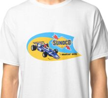 Old sunoco Gasoline motoroli decal Classic T-Shirt