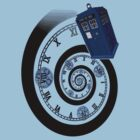 The Twelfth Doctor - time spiral (no white outline) by Jackpot777