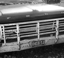 Old Ford Truck - Original Black and White Photograph by GeminiMoon