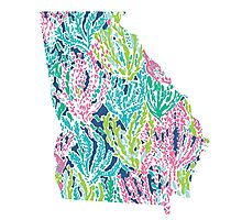 Georgia Lilly Pulitzer Photographic Print