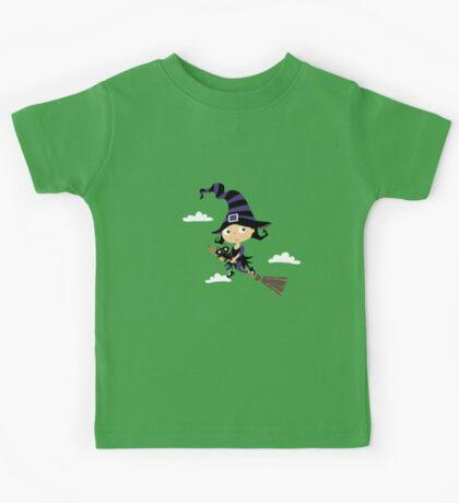 Kleine nette Hexe - Cute Little Witch Kids Tee
