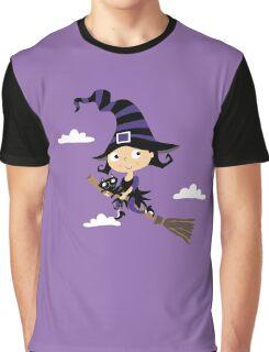 Kleine nette Hexe - Cute Little Witch Graphic T-Shirt