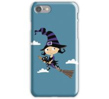 Kleine nette Hexe - Cute Little Witch iPhone Case/Skin