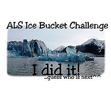 ALS Ice Bucket Challenge  Photographic Print