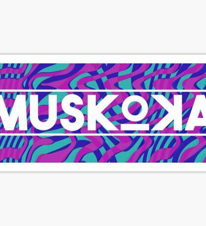 MUSKOKA Logo Sticker