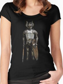 Fairy warrior Women's Fitted Scoop T-Shirt