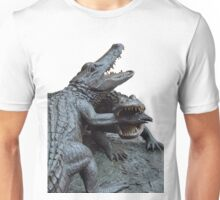 The Chomp Transparent For Customization Unisex T-Shirt