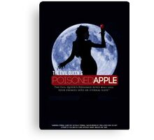 The Evil Queen's Poisoned Apple Canvas Print