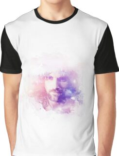Aragorn Watercolor Splash Art Graphic T-Shirt