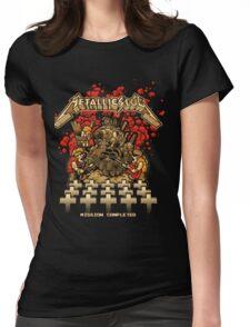Metallica - Metal Slug  Womens Fitted T-Shirt