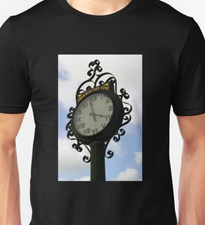 Observatory Time Unisex T-Shirt