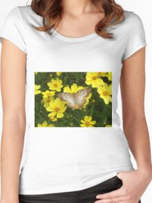 Vanilla Wings Women's Fitted Scoop T-Shirt