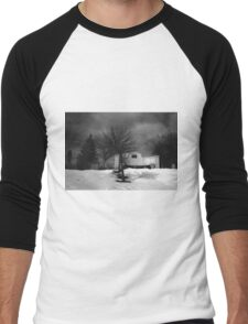 At Rest (St. John's Norway Cemetary, Toronto, Ontario, Canada) Men's Baseball ¾ T-Shirt