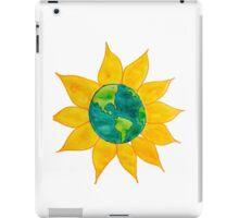 Watercolor Earth Flower iPad Case/Skin
