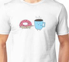 Donuts and Coffee - Better Together  Unisex T-Shirt