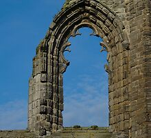 Window In St Andrews Cathedral by Adrian Wale