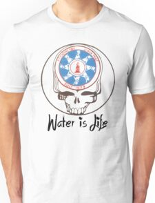 Water is life standing rock stealy Unisex T-Shirt