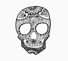 Zentangle Hipster Skull Unisex T-Shirt