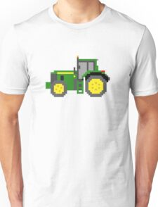Tractor #2 - The Kids' Picture Show - Pixel Art Unisex T-Shirt