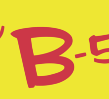 B-52's Sticker  Sticker